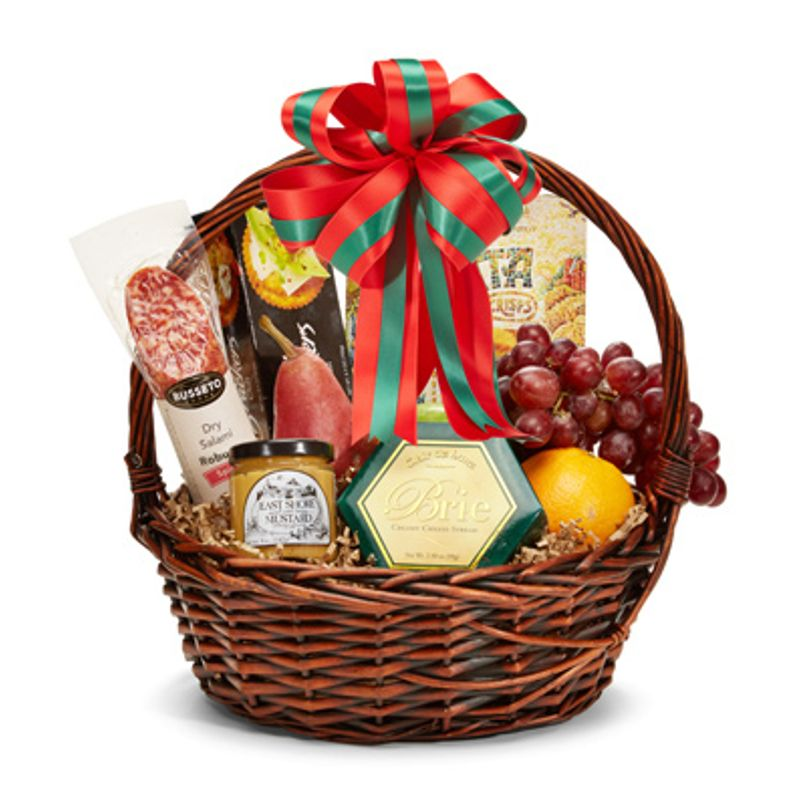 Christmas Gourmet Basket Backyard Garden Florist Roseboro Nc