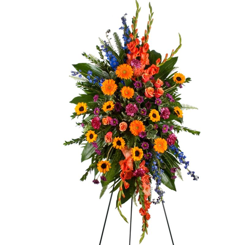 Premium Standing Sprays Backyard Garden Florist Roseboro Nc