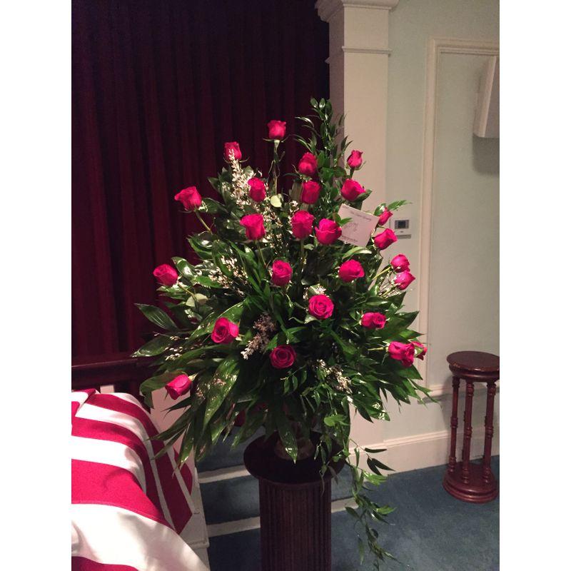 Red Rose Sympathy Backyard Garden Florist Roseboro Nc