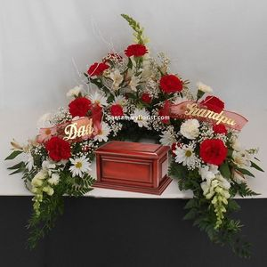 Memorial Service Flowers Flower Delivery Middlefield Florists Middlefield Oh Santamary Florist