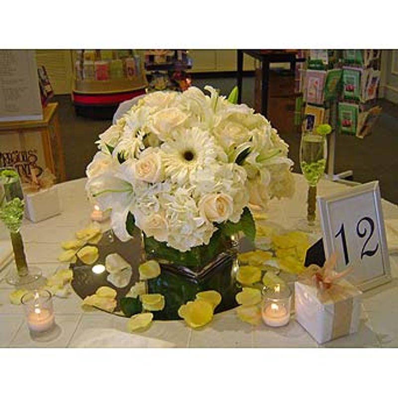 ANNABELLE'S CENTERPIECE Santos Florist