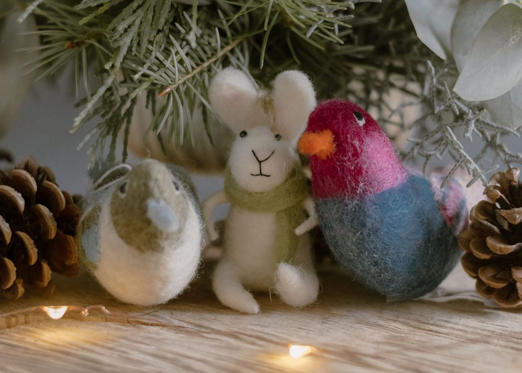 Choice Felted Ornament Seattle Florist: Flower Lab | Local ...