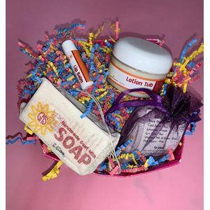 Goat Milk Soap Gift Basket In Cicero Indiana Seven Sisters Florist