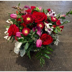 Spring flowers jh flower boutique jackson hole wy 83001 red romance in jackson wyoming jh flower boutique shop and events mightylinksfo