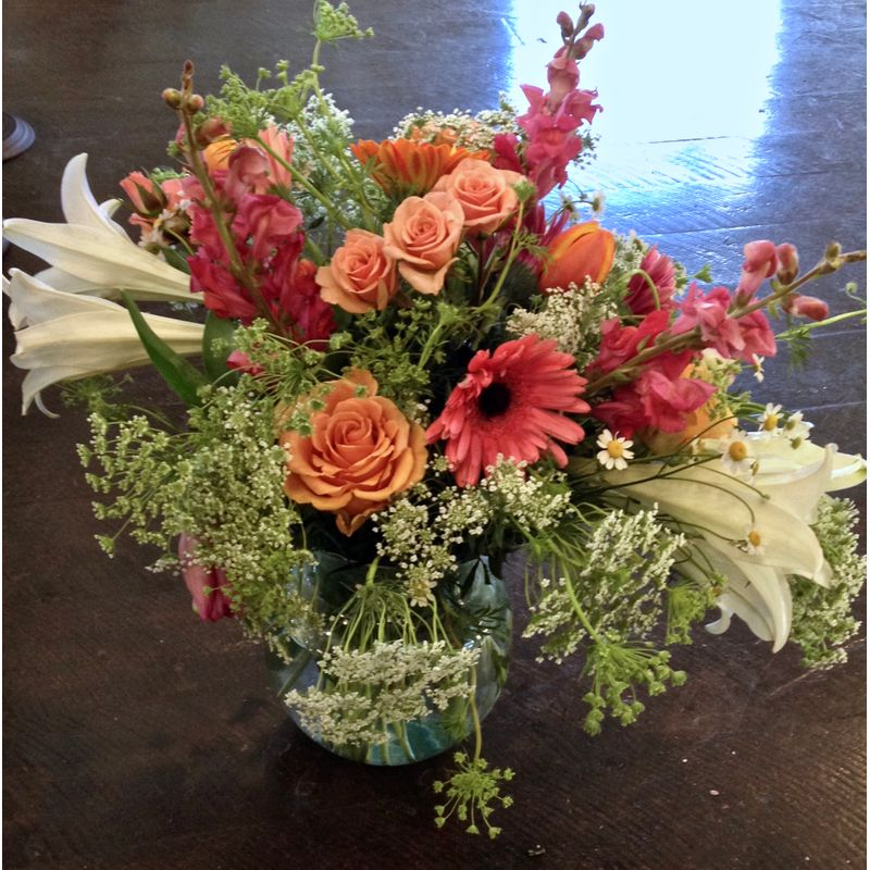 Spring Bowl Jh Flower Boutique Jackson Hole Wy 83001