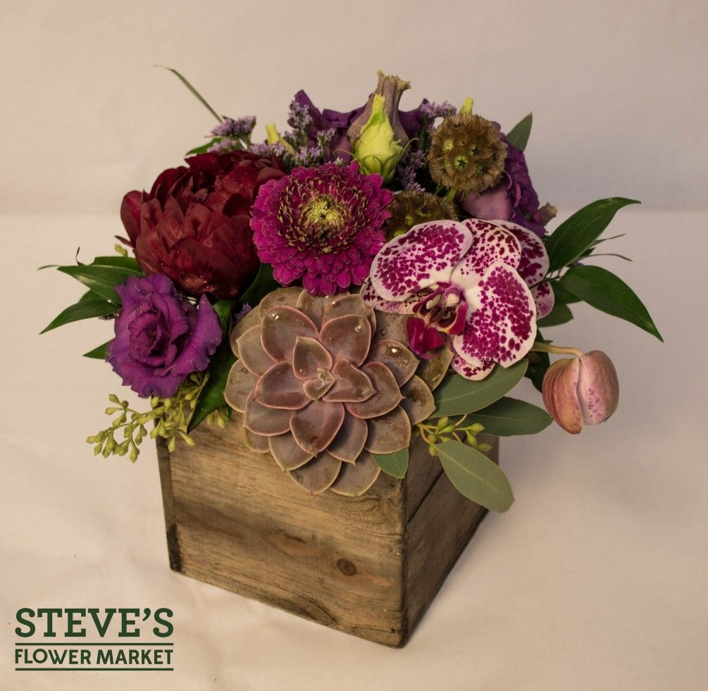 Purple Passion Chicago Florist - Steve\'s Flower Market