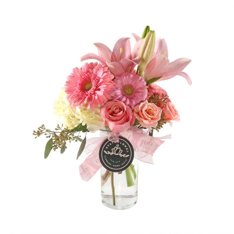 Celebrate Baby Girl Arrangement Starkville Top Quality Florist