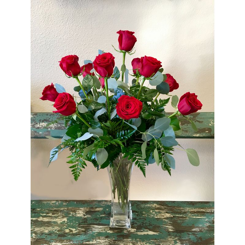 1 Dozen Roses Simply Blessed Flowers Frisco Tx 75035 Florist