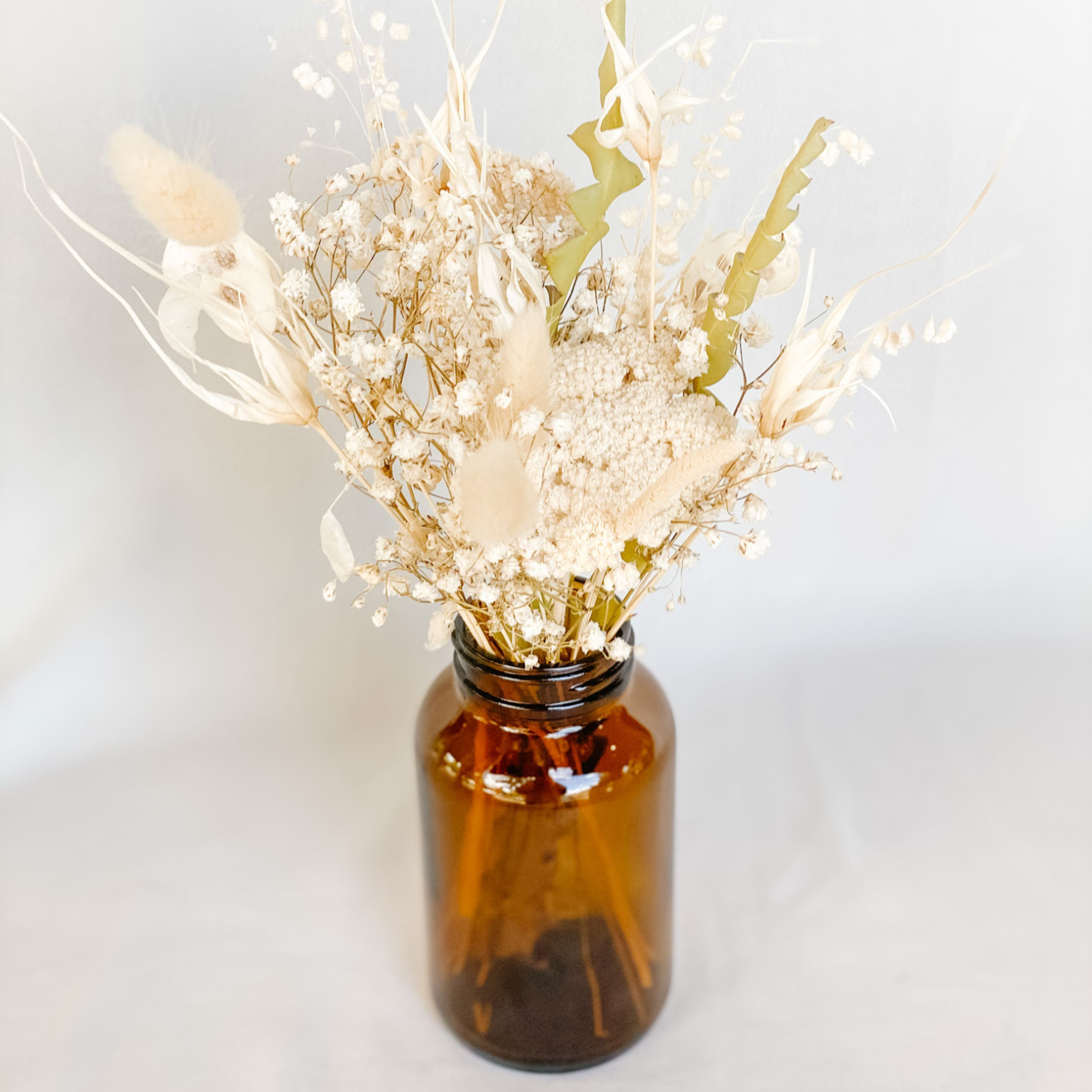 Dried Flower Apothecary Bottle Arrangement North Vancouver Florist Special Moments Flowers Gifts Ltd Local Flower Delivery North Vancouver Bc V7j 3s8