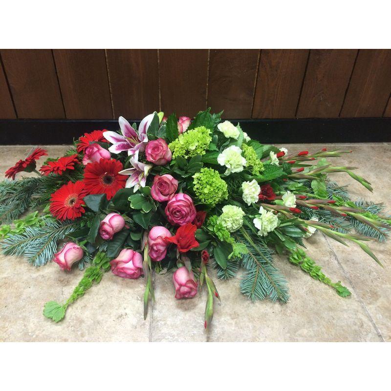 Sweet Peace Casket Blanket Sunshine Designs Florist