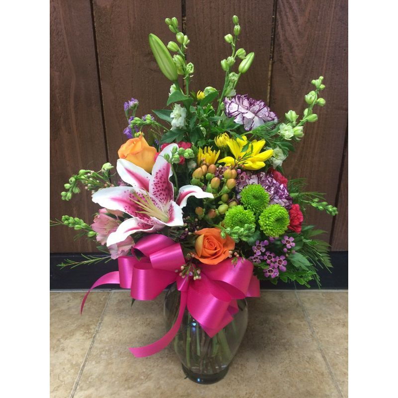 Rainbow Bouquet Sunshine Designs Florist