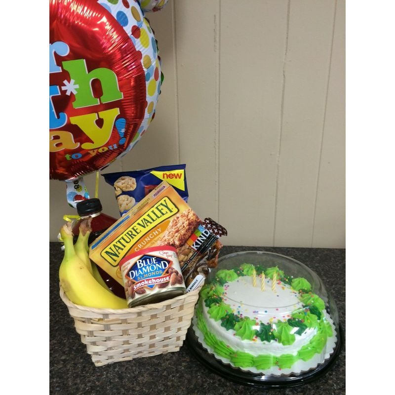 Birthday Snack Basket Sunshine Designs Florist