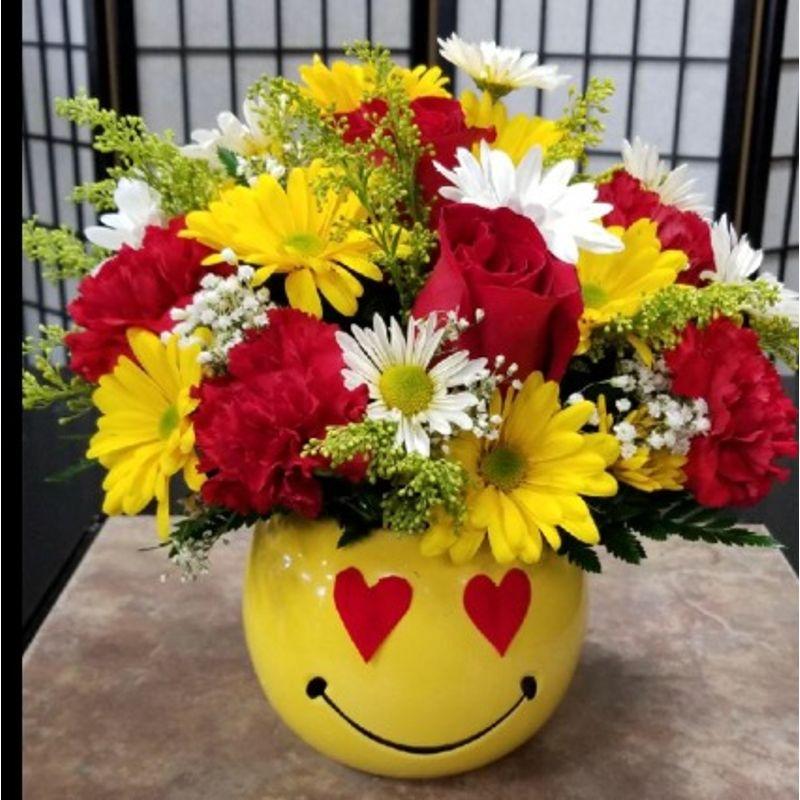 Emoji Love Bouquet Oldsmar Florist