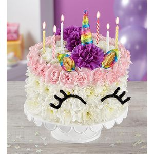 Birthday Wishes Flower Cake Unicorn In San Jose California Tapias Roses