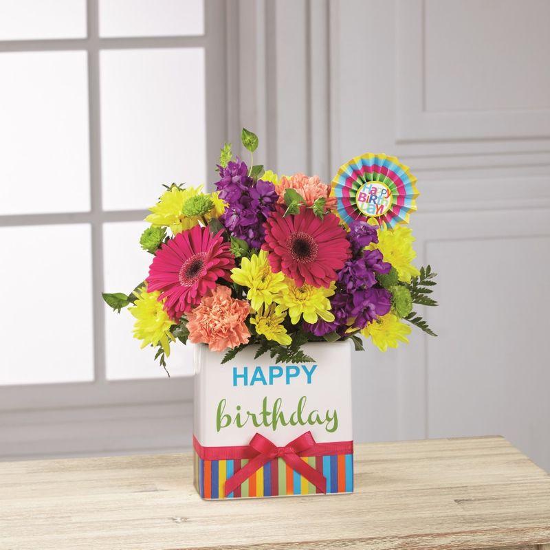 FTD Birthday BrightsTM Bouquet San Jose CA 95110 Florist