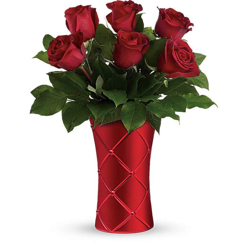 Crimson Luxury Bouquet San Jose CA 95110 Florist