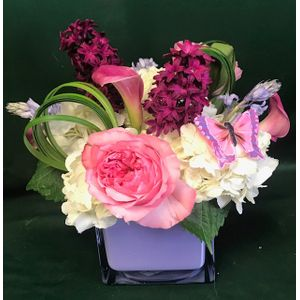 Pink And Purple In Millersville MD A Blooming Basket Flowers Gifts