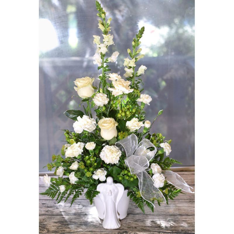 S112 Angelic The Garden Gate - Yuba City, CA | Local Florist