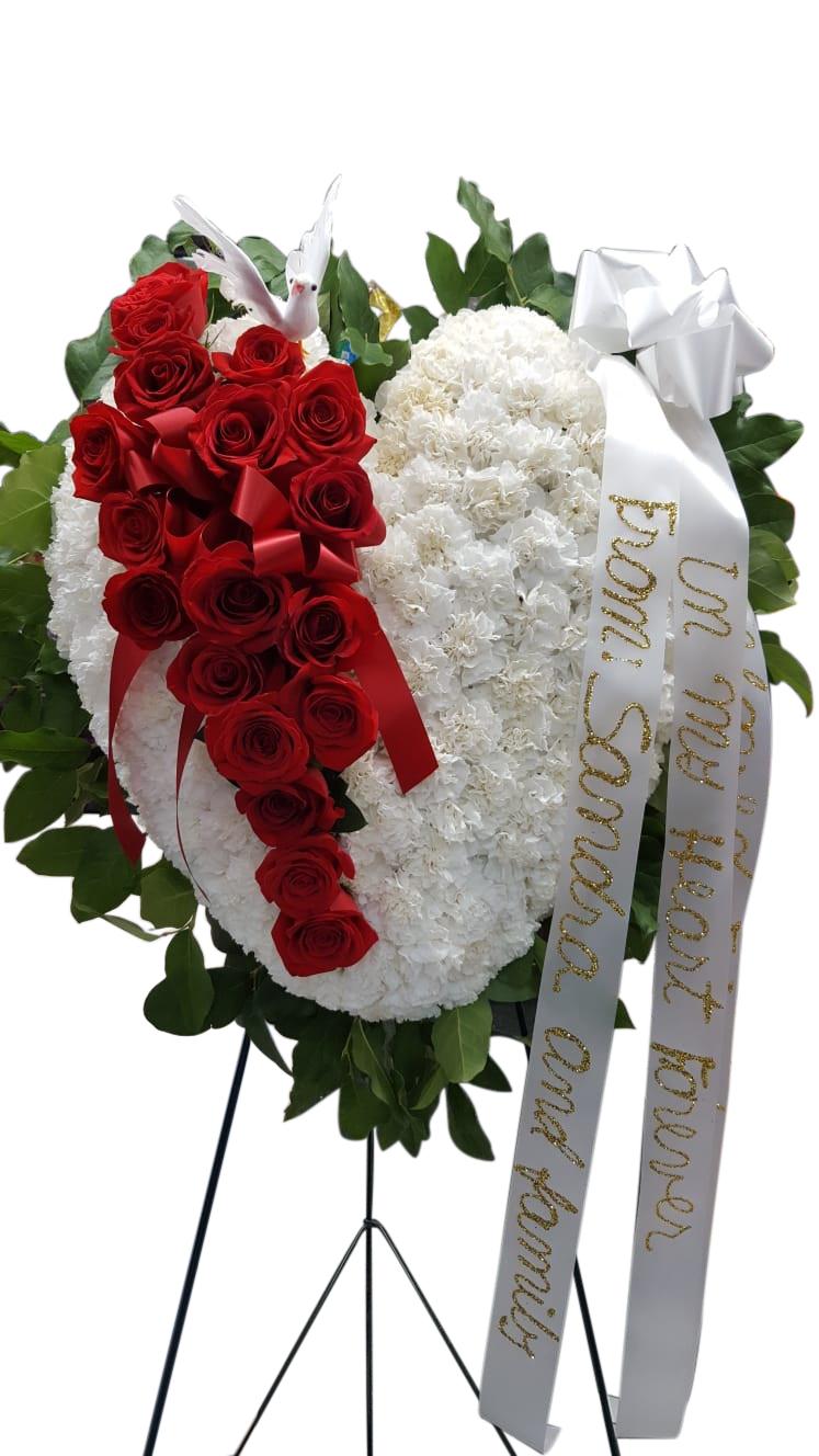 Always In Our Hearts Brooklyn Florist Gardenia Flower Shop Local Flower Delivery Brooklyn Ny 11207