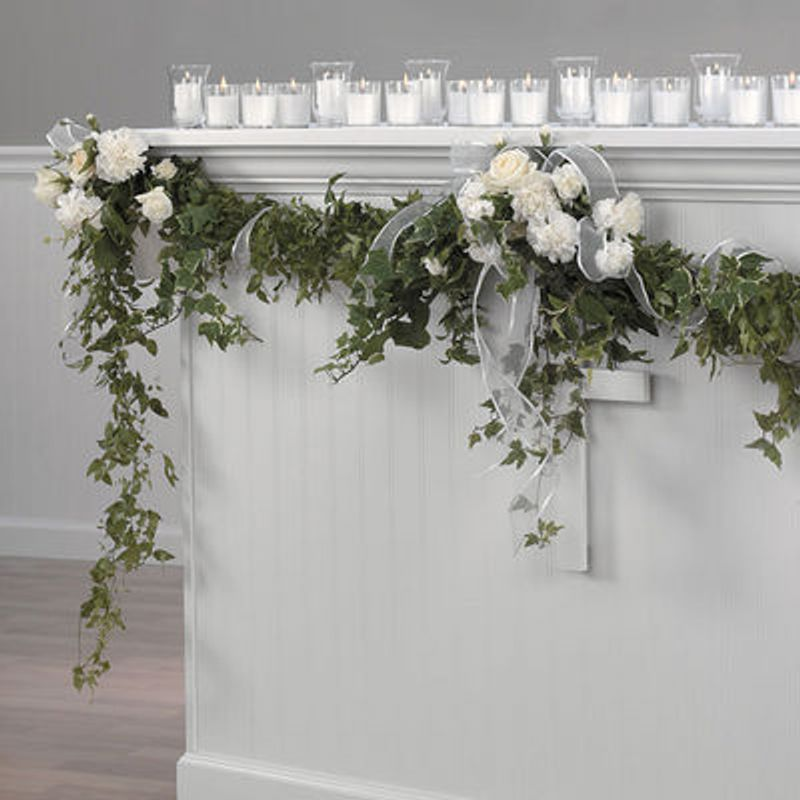 Wedding Altar Flowers Price: Touch Of Love Altar Garland Milton FL 32570 Florist