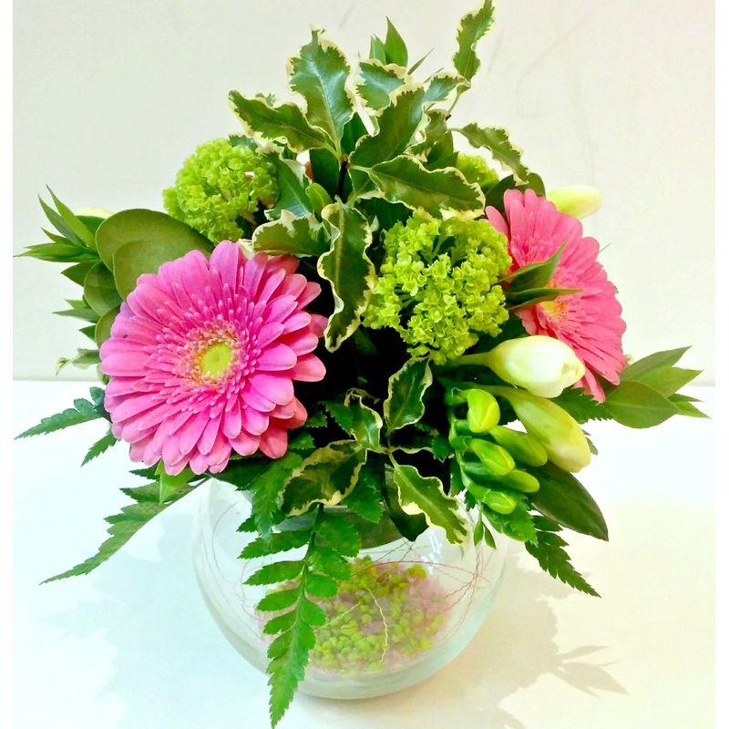 Pink lemonade van gogh flowers peterborough on local florist more views mightylinksfo