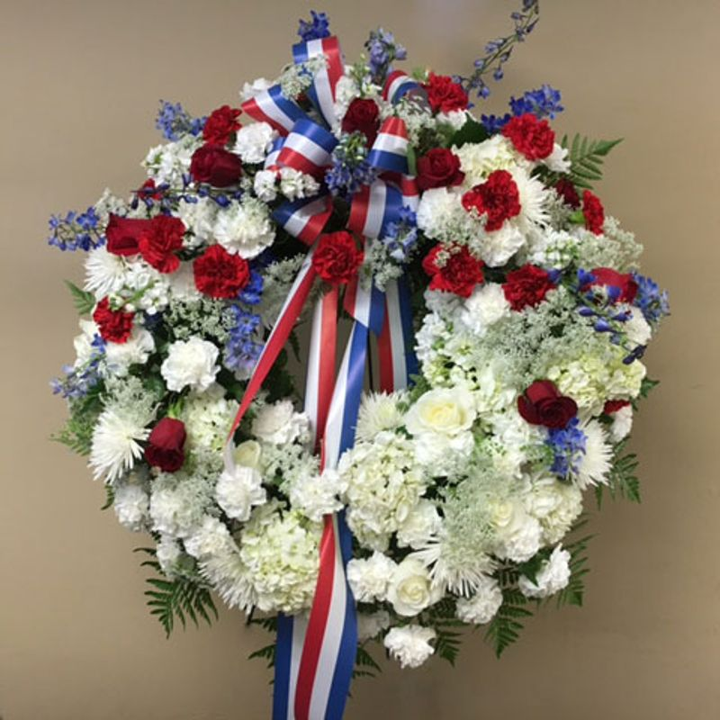 Wreath, Standing - Military Tribute