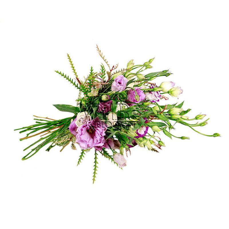 Lisianthus Bouquet Wilbe Bloomin Kensington Markets Flower