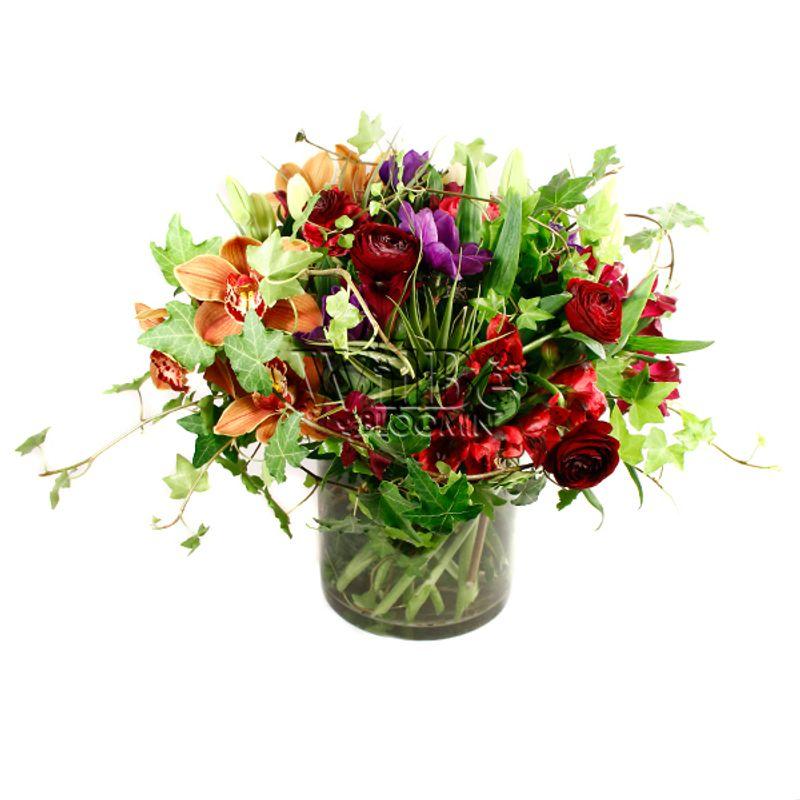 Air Plants Adorn In Vase Wilbe Bloomin Kensington Markets Flower