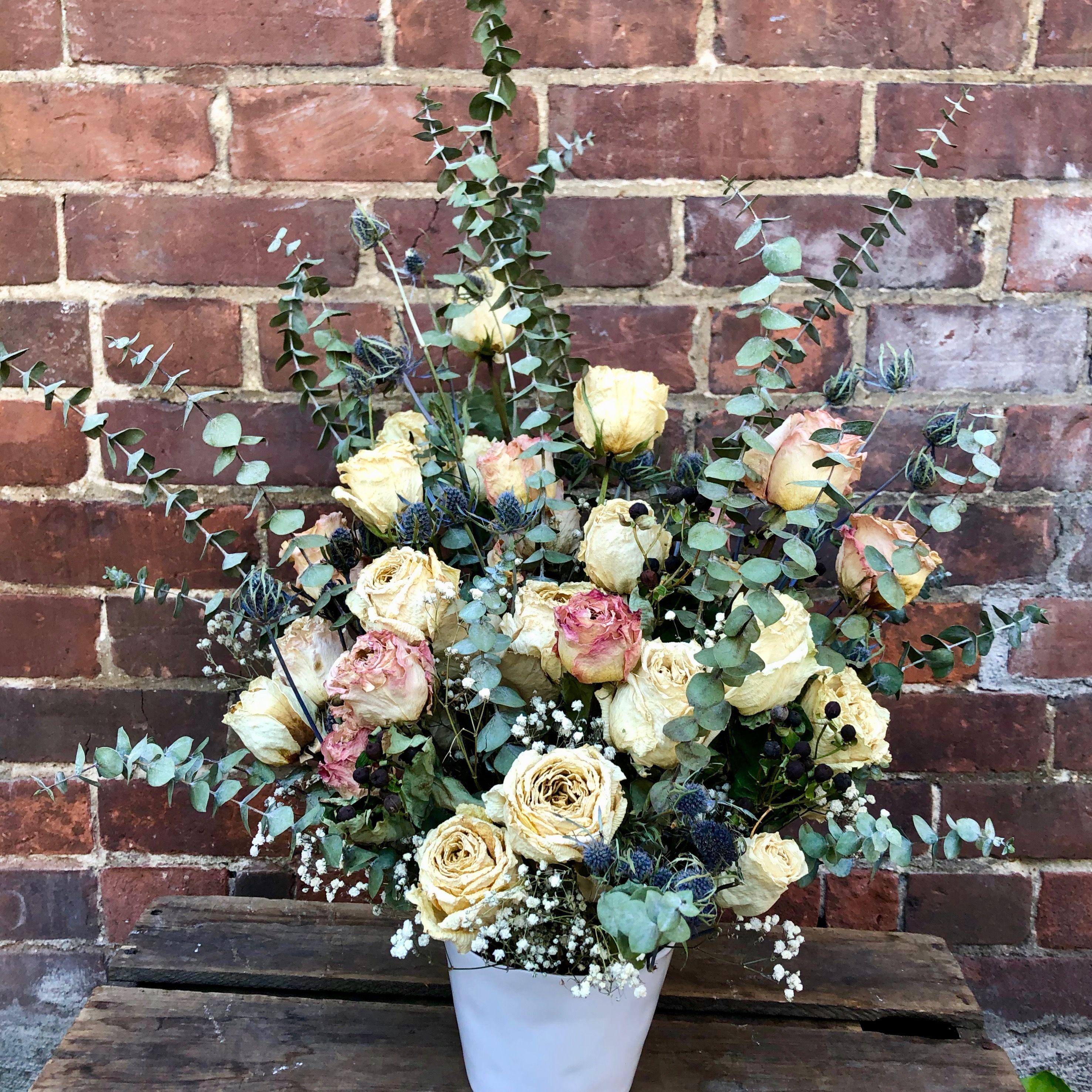 Delicate Dried Flowers In Vase Wilbe Bloomin Kensington Market S Flower Emporium Toronto Ontario