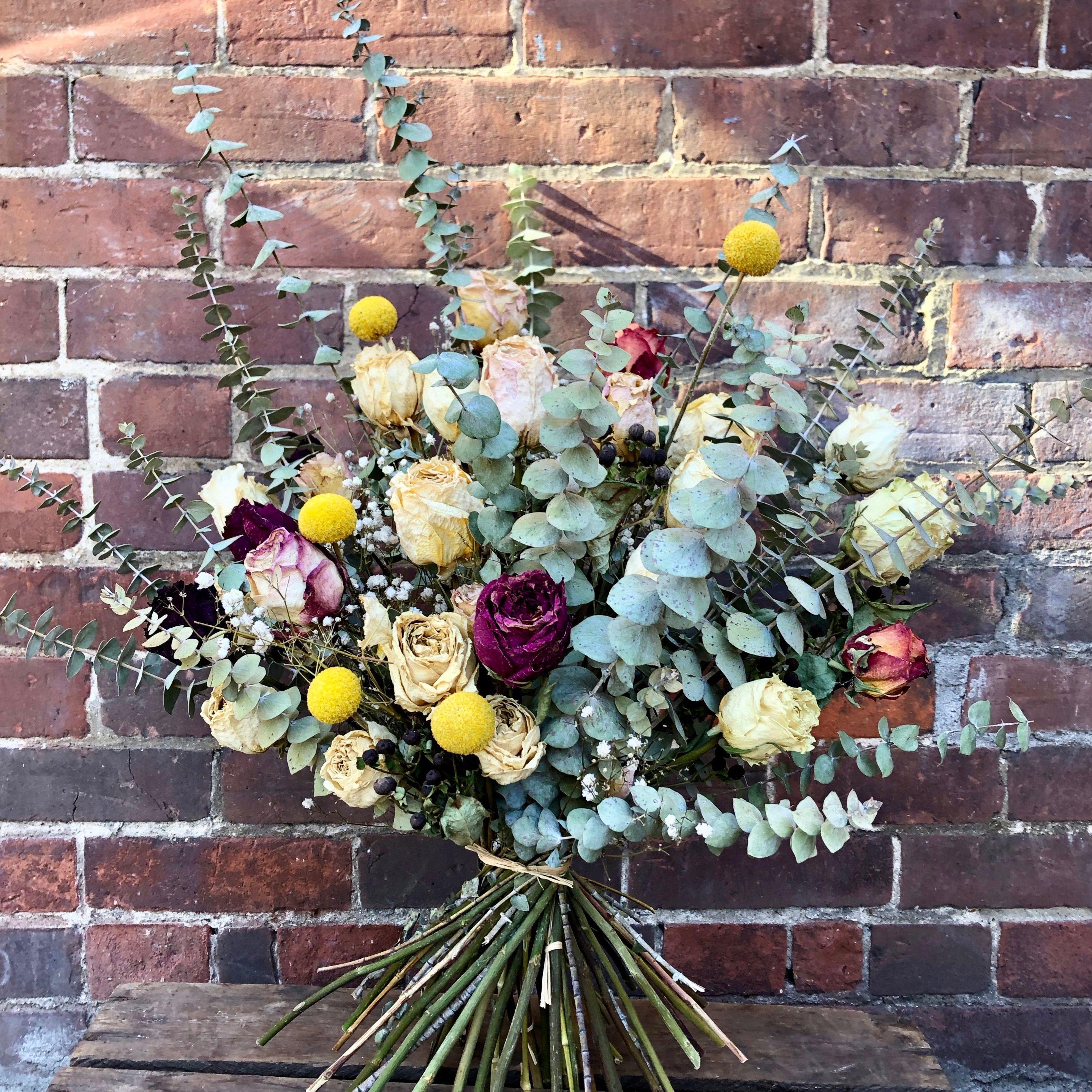Delicate Dried Flower Bouquet Wilbe Bloomin Kensington Market S Flower Emporium Toronto Ontario