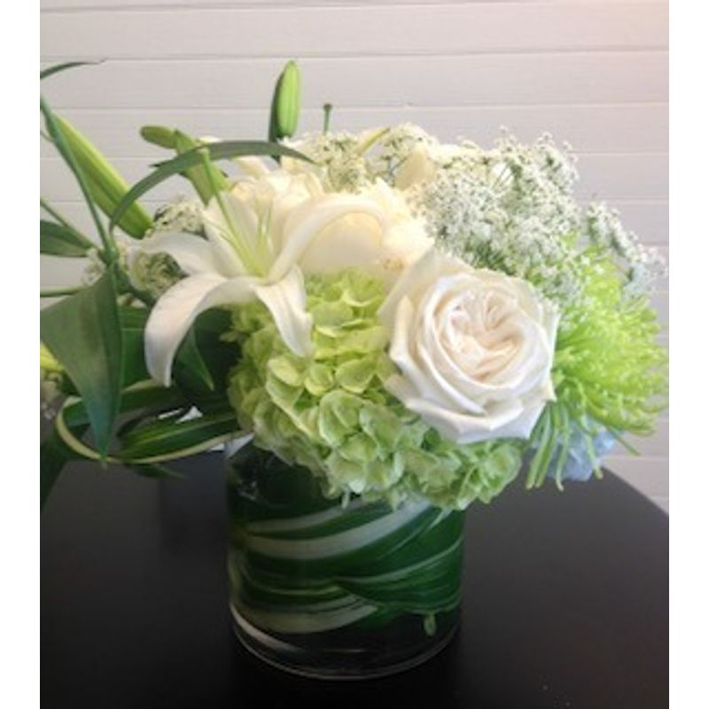 Swirls Of Green Wild By Nature Flowers Gifts More