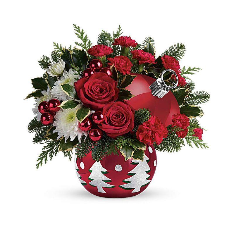 Christmas Ornament Bouquet Winchester City Florist - Best ...