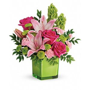 In Love with Lime Bouquet in Woodstock GA, Woodstock Flowers and Gifts