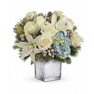 Silver Snow Bouquet in Woodstock GA, Woodstock Flowers and Gifts