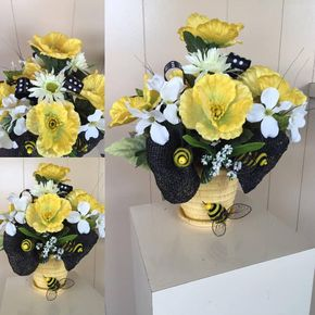Sandys floral gallery tuxedo rentals poppies and bees artificial in wytheville virginia sandys floral gallery tuxedo rentals mightylinksfo