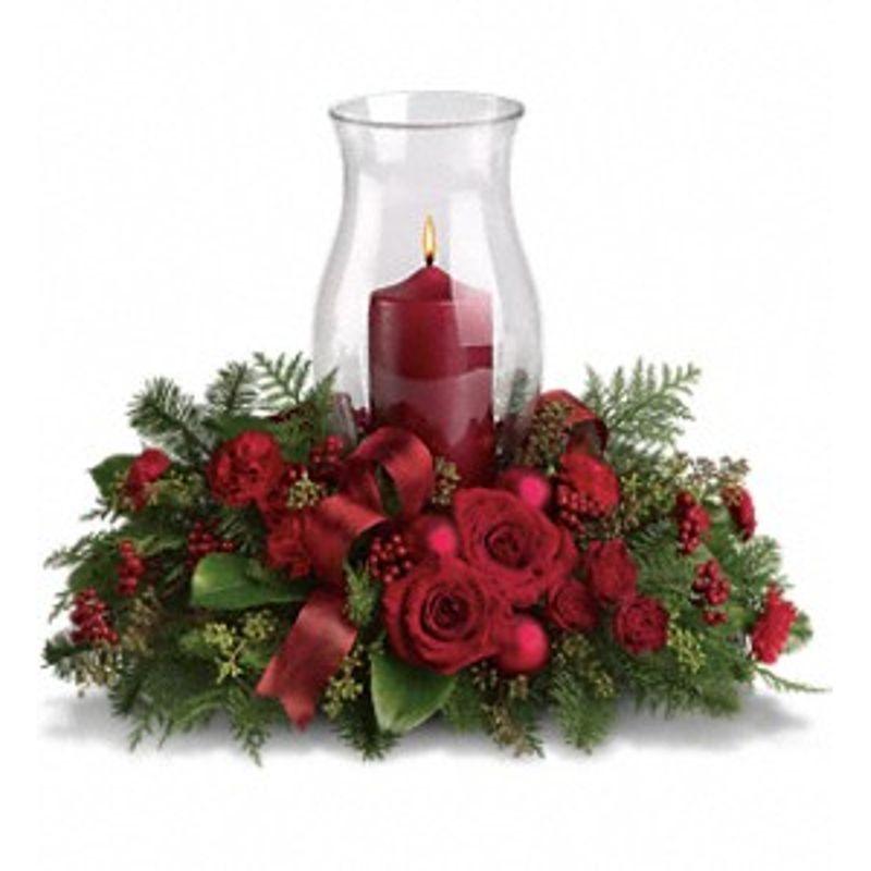 Holiday glow centerpiece menifee ca florists florist in