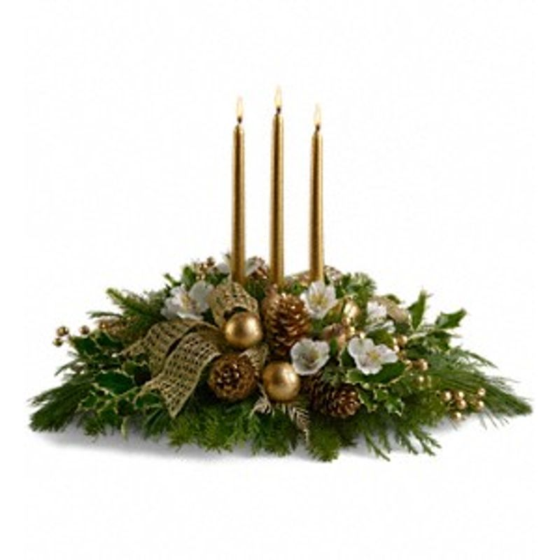 Christmas Greenery Centerpieces.Royal Christmas Centerpiece Quinn S Blooms And Greenery