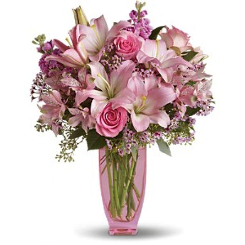 Teleflora S Pink Pink Bouquet Kingston Florist Kingston