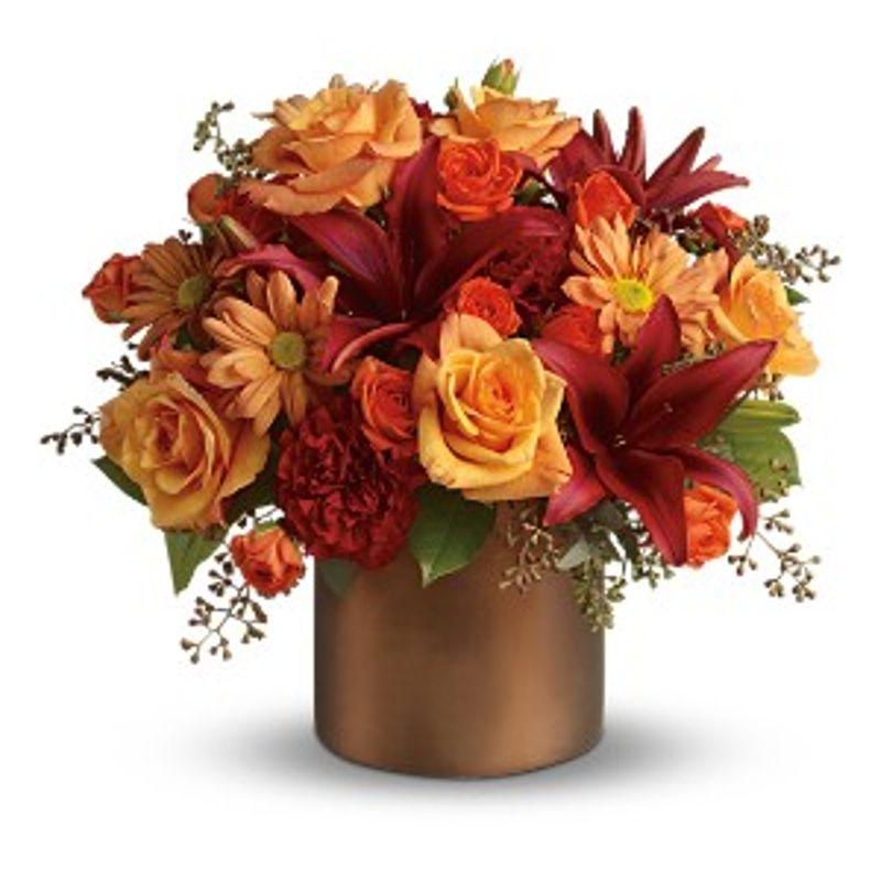 Teleflora S Amazing Autumn Cleves Oh Florist Nature Nook
