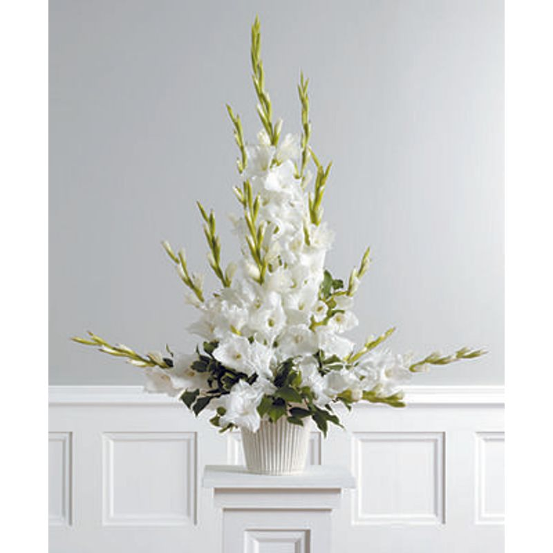 Radiant Glads Aarrangement Mei Mei Florist Vancouver Bc Flower Shop Same Day Flower Delivery In Vancouver Burnaby And Richmond In Bc
