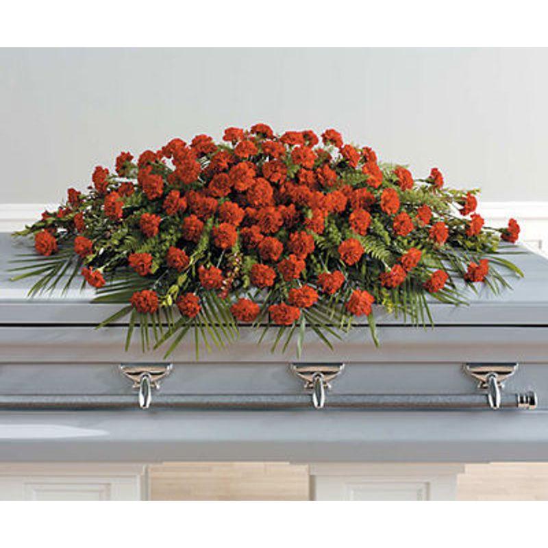 A Life Well Lived Full Casket Spray Regency Florist London On Best Local Flower Shop