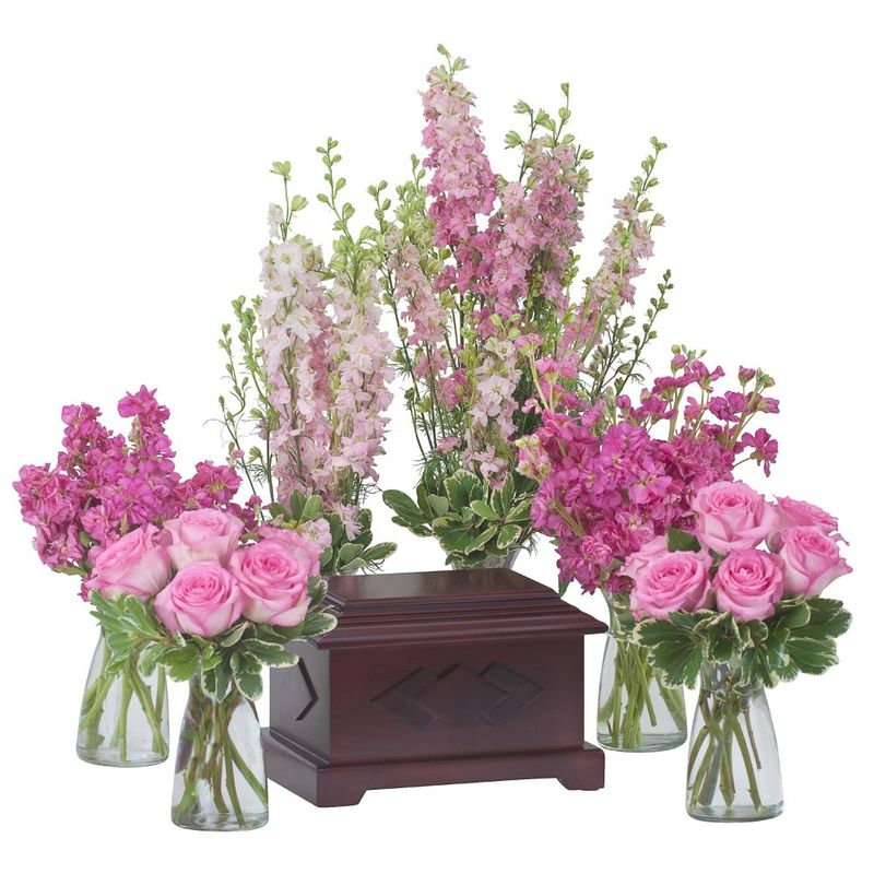 Surrounded by love in pink green bay florist flowers in green bay more views mightylinksfo
