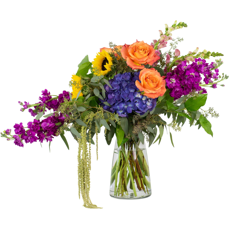 225 & Naturally Prismatic Vase Order Flowers \u0026 Gifts Online   Nature\u0027s ...
