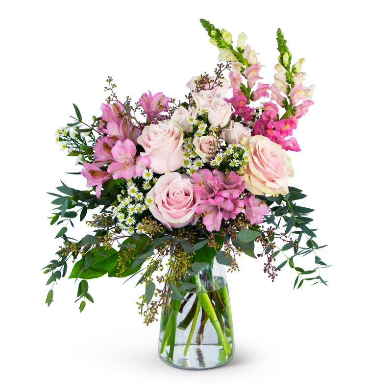Gentle Pink Meadow Edmonton Florist Flowers By Merle Local Flower Delivery Edmonton Ab T5n 0y4