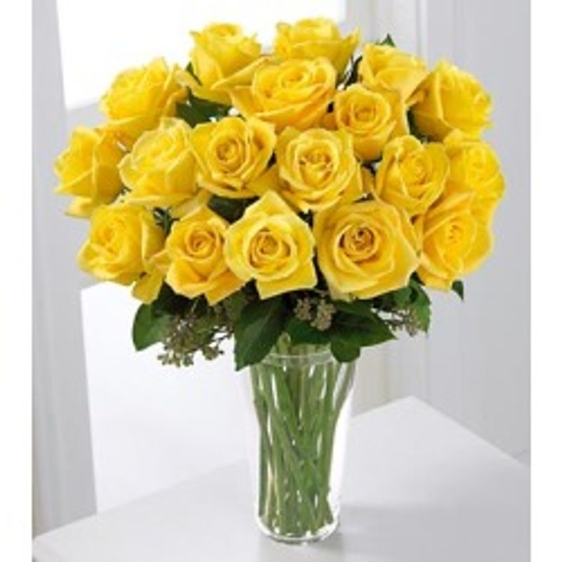 Just For You Yellow Rose Bouquet Elm Grove Brookfield Wauwatosa Wi