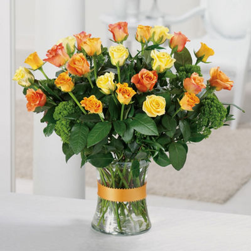 Golden N Rosy Dunnville On Flower Shop Blooming Designs Florist
